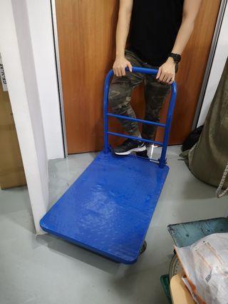 Heavy duty trolley troli besi iron 60x90cm 300kg