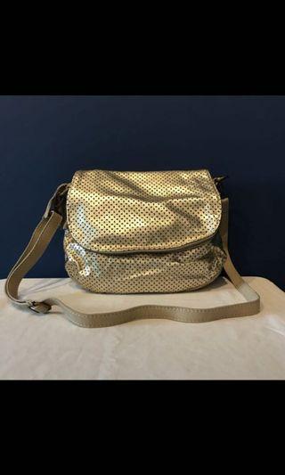 Italian Leather Cross Body Bag