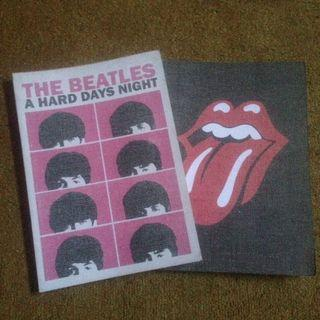 Typo notebook rollingstone & The beatles
