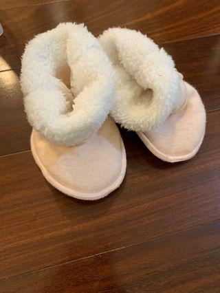 Pumpkin patch Fluffy Baby shoes