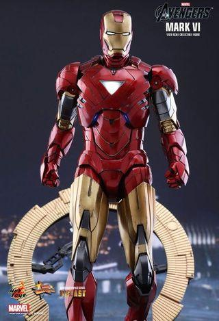 徵 / 收 Hottoys Hot Toys Ironman Mark 6 diecast 全新 or 二手