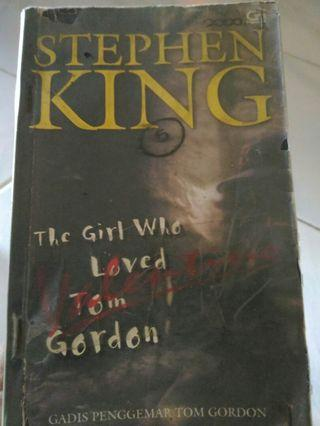 Stephen king. Gadis penggemar tom gordon