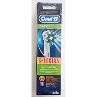 ORAL-B 3+1 Cross Action 4 Pack Refill electric toothbrush