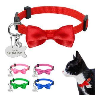 [Pre-Order] Personalized Dog Cat Safety Collar Quick Release Nylon Collar