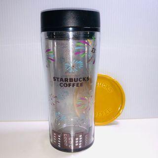 《Starbucks13週年紀念隨行杯》已絕版的漂亮紀念杯