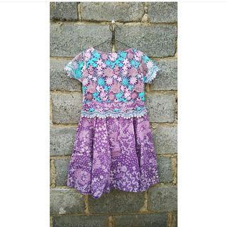 Dress brokat batik