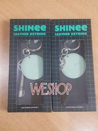 SHINee 11th Anniversary Goods - Leather Keyring