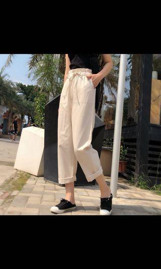 [PO] high waisted ulzzang pants avail in 4 colours!