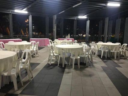 Table and Tiffany Chair Rental