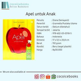 Buku Resep - Apel untuk Anak