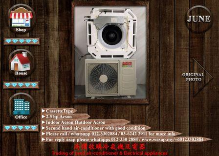 Acson 2.5HP Cassette Type Air Conditioner