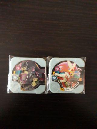 🚚 Pokemon Tretta (Mega Evolution Mawile and Blaziken)