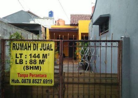 Rumah Stategis Daerah Cijantung Pasar Rebo