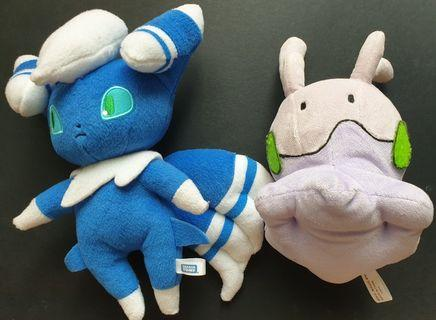 Pokemon Plush Toy Goomy & Meowstic