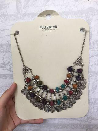 kalung necklace necklaces pull&bear stradivarius h&m