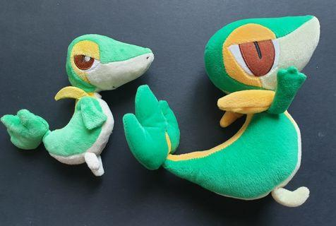 Pokemon Snivy Banpresto Plush Toy Set