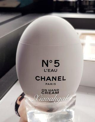VIP Chanel N°5 L'eau EDP perfumed hydrating non sticky handcream