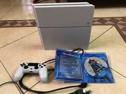 Sony PlayStation 4 System, Glacier White (Japan Region)