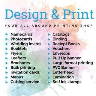 Design & Printing Services
