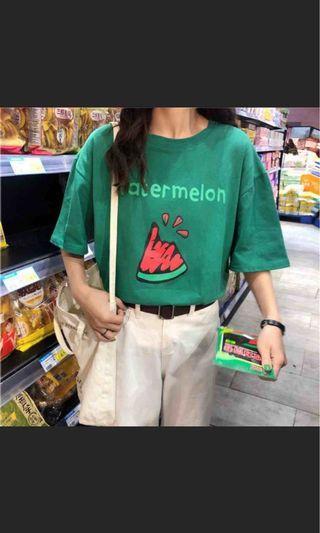 🚚 西瓜T恤