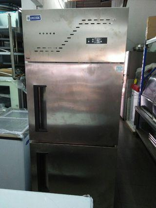 2door upright Freezer  (piping system)