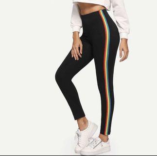 🚚 [PO] striped leggings