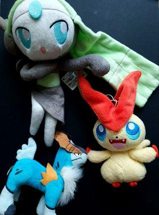 Pokemon Banpresto Plush Toy Legendary Lot