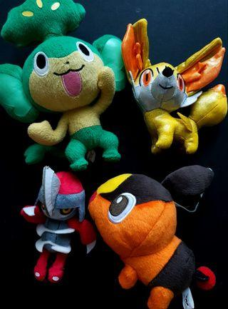 Pokemon Banpresto Plush Lot of 4 Bundle