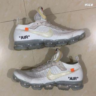 Nike off white Vapormax white