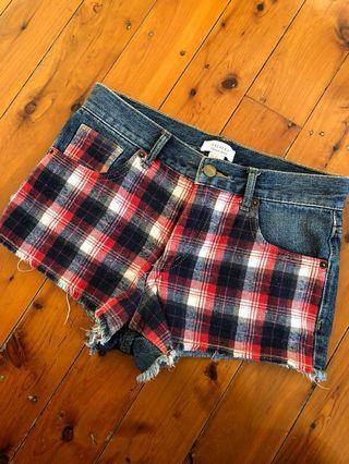 Funky plaid shorts