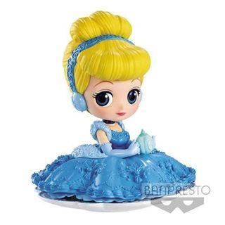 迪士尼 FIGURE 灰姑娘 - Q posket SUGIRLY Disney Characters - Cinderella ✡ 全2種 ✡