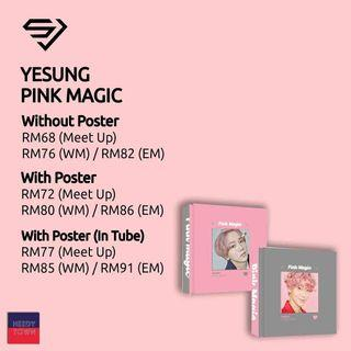 (PRE-ORDER) YESUNG - PINK MAGIC
