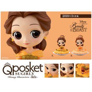 迪士尼 FIGURE 貝兒 Q posket SUGIRLY Disney Characters - Belle - ✡ 全2種 ✡