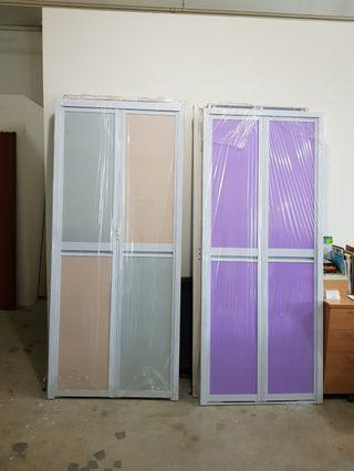 Aluminium Bi Fold Toilet Door