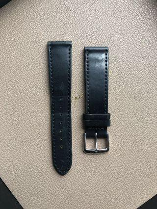 Nomos Shell Cordovan 18mm Leather Strap