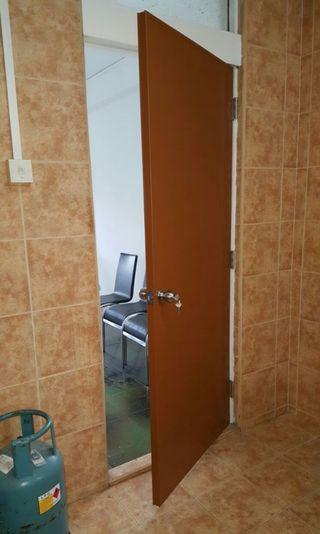 Upvc Panel Toilet Waterproof Door