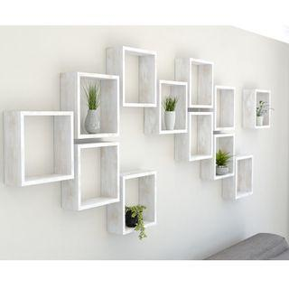 Decorative Square wall shelves