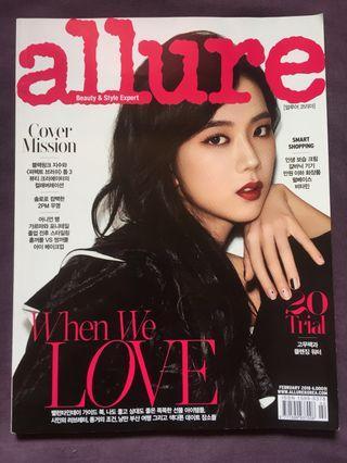 Blackpink Jisoo Cover Magazine