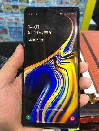 Samsung note9  6+128gb 雙卡 冇花冇崩長期用套港行有保到12月
