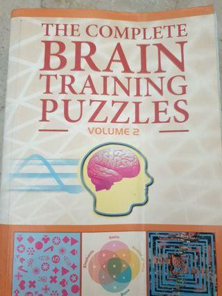 The Complete Brain Training Puzzles Volume 2