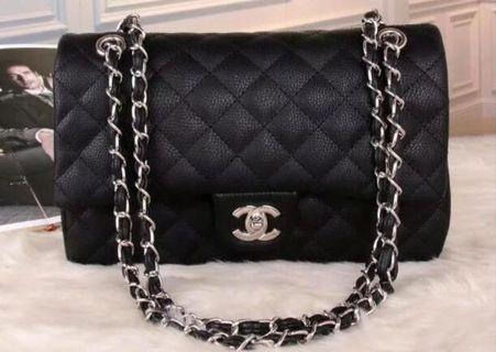 🎁 Chanel Classic Flap Bag Caviar