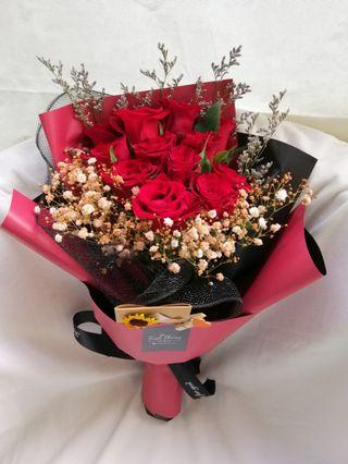 Today special Birthday Gift/ Anniversary Flower /Roses/ Surprise Flower/Fresh Flower