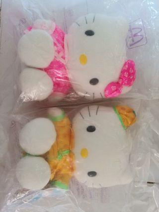 McDonald's Hello Kitty 絕版毛公仔