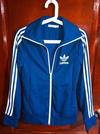 Adidas Originals Jacket Streetwear - No Hood (Blue)