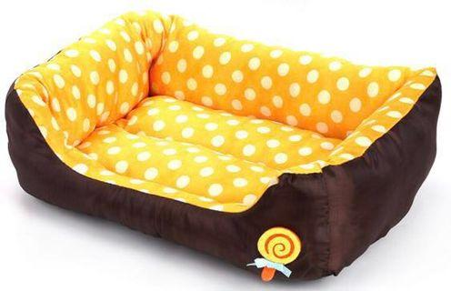🚚 Brand New yellow large pet bed / dog bed / cat bed #juneholiday30