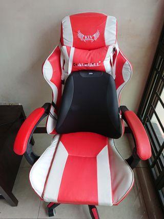 KLV Gaming Chair + OTO back massage