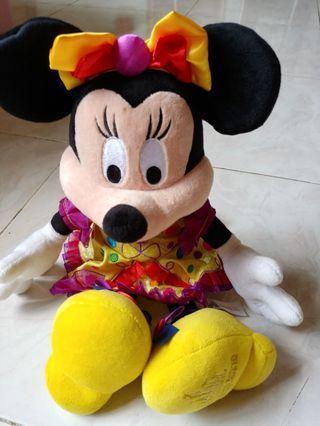 Disney 米妮 正版 毛公仔