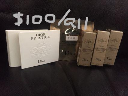 Dior prestige set (6 pcs - 面霜/洗面乳/精華) #MTRcentral