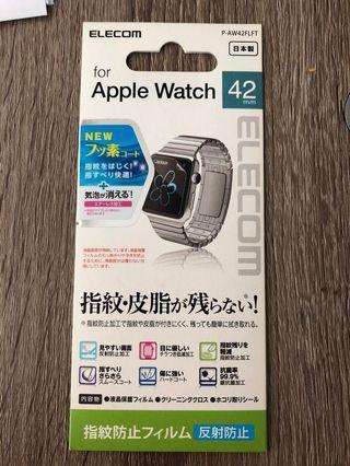 Elecom Apple Watch 42mm screen protector 日本螢幕保護貼