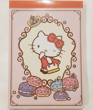 Hello kitty 5 different colourful inner pages memo pad notebook notepad paper